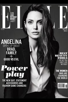 Angelina Jolie, Elle Magazine [Malaysia] (June 2014)