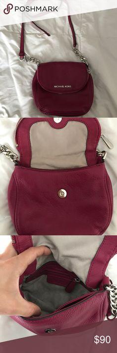 cd98441c94cd Michael Kors Crossbody bag Michael Kors pink Crossbody bag worn once super  cute and fun.