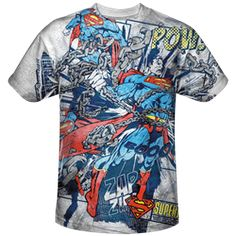 21535fe16d9 Superman Busting Out T-Shirt - ZB-3904 from Superheroes Direct Pop Figures