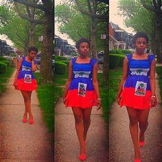 Absolutely love this dress. - Haiti
