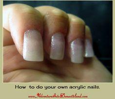 Nailene acrylic nail set do it yourself diy pinterest acrylic get a list of supplies you need and learn how to do acrylic nails yourself solutioingenieria Choice Image