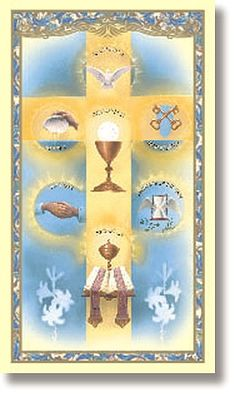 """The Seven Sacraments"""" Learning Wheels - Oriental Trading $7 per ..."""