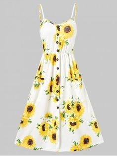 calf length flowy dress floral - Google Search