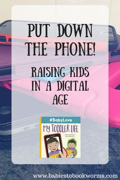 Share this children's book and these activities as a family to remind yourselves to put the phones down. Raising kids with technology | Kids and Phones | Electronics Time Out