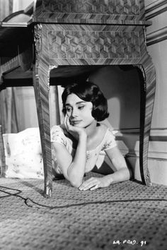 Audrey Hepburn in Love in the Afternoon