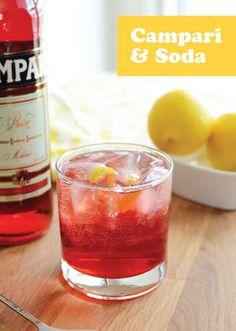 Campari and Club Soda Cocktail Recipe