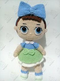 Amigurumi Lol Doll Free Crochet Pattern in 2020   Lol dolls, Doll ...   280x210