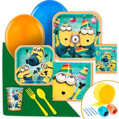 Despicable Me 2 Value Party Pack from BirthdayExpress.com