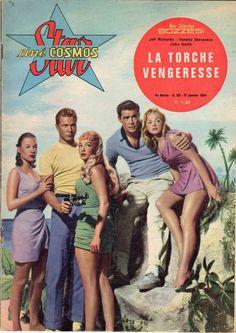 STAR CINE COSMOS 60 année 1964 LA TORCHE VENGERESSE TBE