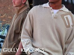 Gully Klassics New designs done. Time to get your favourites. Our new collection is fully stocked…. check it out… Clothing Co, Streetwear Fashion, Trendy Fashion, Ready To Wear, Street Wear, Men Sweater, Lady, Holiday, Check