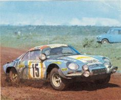 Safari 1974 - Thérier Jean-Luc - Laverne Vincent icon Alpine-Renault A110 1800 Alpine Renault, Renault Sport, Vintage Racing, Vintage Cars, Alpine Car, Safari, Megane Rs, Matra, Rally Car