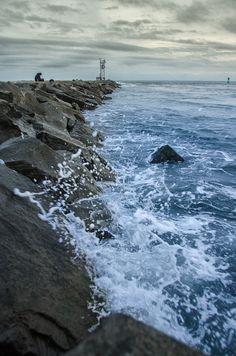 Ocean City, Maryland  Title: Splashing on the Jetty Photographer: Melissa Fague