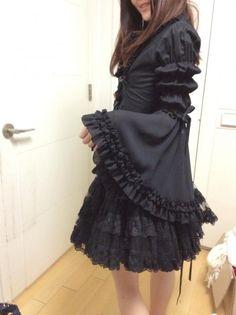 atelier pierrot black blouse NWT « Lace Market: Lolita Fashion Sales and Auctions