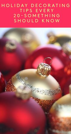 Holiday decorating tips every 20-something should know