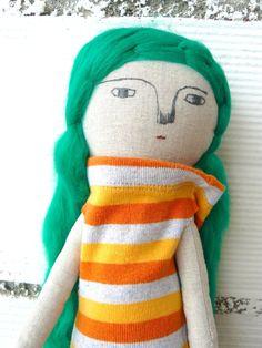 Muñeca Loli de algodón / 44 cm / de AntonAntonThings en Etsy