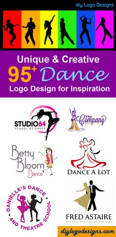 95+ creative Dance Logo Design Inspiration ideas. check out full collection at diylogodesigns-com