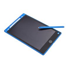 Portable 12 inch LCD Writing Tablet Digital Drawing Board Handwriting Pads Electronic Tablet Ultra-thin Board - Blue