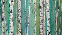 birch tree print unframed | Birch Trees by Kristen Dougherty - Kristen Dougherty
