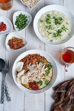 bubur ayam/chicken porridge | Diany | Flickr