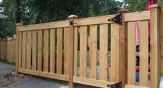 In addition to wood, you can also choose from a variety of ornamental fences such as steel ornamental fences and aluminum. Description from bartlettilfencecompany.com. I searched for this on bing.com/images