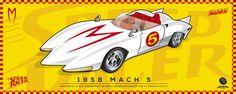 Speed Racer Mach 5 por Galleta gráfico