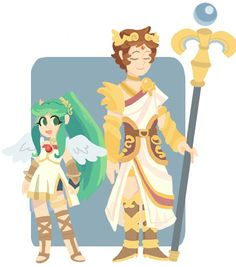 126 Best Kid Icarus Images On Pinterest