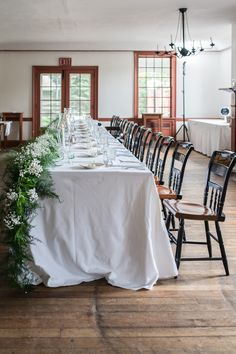 Floral Swag l Eagle Tavern Wedding l Rustic Elegance l Wedding Florals