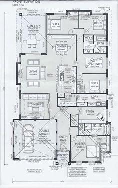 Planos De Casa Prefabricada De Un Solo Nivel Tres