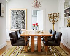 Flat Bar Brno Chairs are perfect for sophisticated at-home dining.