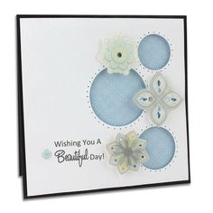 Wishing you a Beautiful Day - Shine Scrapbooking Card To purchase products...www.mycmsite.com/ginastary
