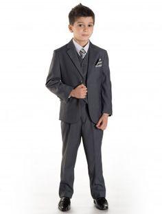 Boys grey suit - Henley