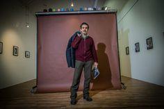 """Stefano Pasquini at Claudio Serrapica exposition """"E no così non si fa"""""""