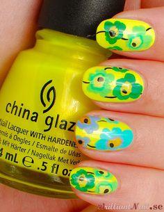 China Glaze Sun-Kissed goes Marimekko