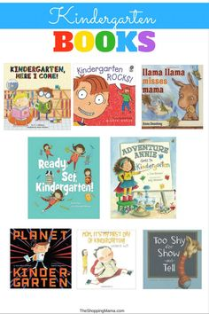 Kindergarten books for kids. #books #kidsbook #read What To Read, How To Know, Mi One, Kindergarten Books, Happy Mom, Show And Tell, Book Recommendations, Four Seasons, Back To School