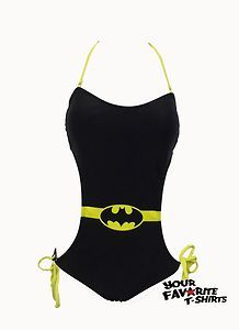 Batgirl Batman Symbol Monokini DC Comics Licensed s XL New | eBay