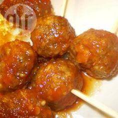 Beer Meatballs @ allrecipes.com.au