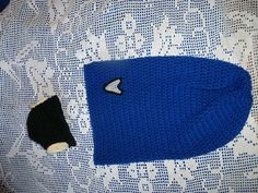 Star Trek Inspired Spock Baby Cocoon with Hat by IAmLivingTheDream, $30.00