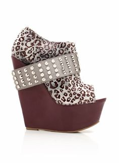 If Nicki Minaj, Snooki, and Cher were to have a shoe baby this would definitely be it.