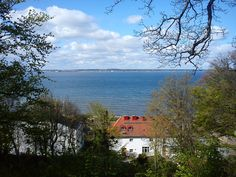 A beautiful view over Oresund to Denmark