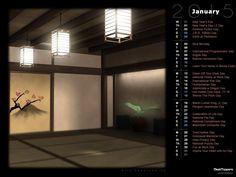 Japanese Room (Rendered)