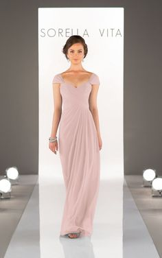 Chiffon Bridesmaid Dress - Sorella Vita
