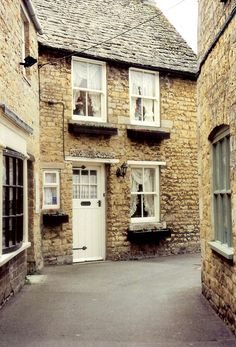 Cotswold Village ~ Rural Old English Town Home ~ Original Colour Photograph by Suzanne MacCrone, via Etsy