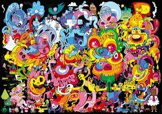 Psychedoodlic - 4000 Pieces - Published 2013 - Jon Burgerman