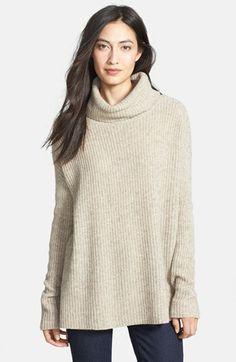 Eileen Fisher Merino & Yak Wool Turtleneck Sweater (Regular & Petite) available at #Nordstrom