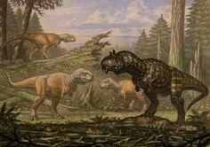 Carnotaurus, Abelisaurus by ABelov2014 on DeviantArt