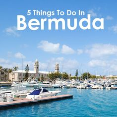 Bermuda is just a 2 hour flight from the East Coast. Here are five things you can do in this beautiful territory.