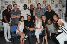 Cara Delevingne  and The suicide squad at the Comic Con 2015