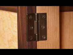 How to cut out notches for door hinges door hinges doors and 123 how to install a butt hinge mortise mortise create an inset for a hinge i on front door planetlyrics Image collections