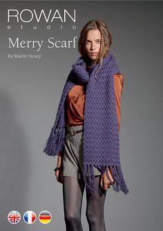 Ravelry: Merry Scarf pattern by Martin Storey