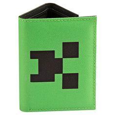 Minecraft Creeper Tri-Fold Wallet